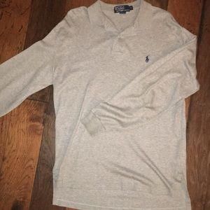 Light Gray Ralph Lauren Polo